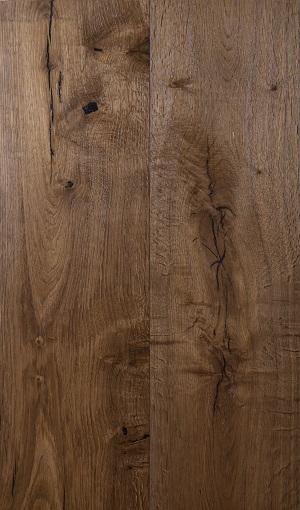 פרקט עץ אלון מבוקע מעושן 2351